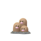 Dugtrio - Normal - Pokémon GO