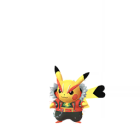 Pikachu - Rock Star - Pokémon GO