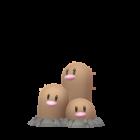 Digdri - Normalform - Pokémon GO