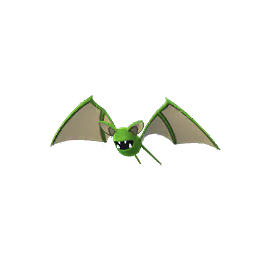 Zubat - Shiny Male