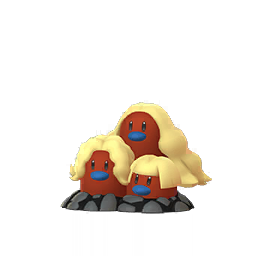 Dugtrio - Shiny Form 61 Male / Female