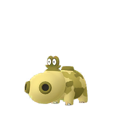 Hippopotas - Shiny Male