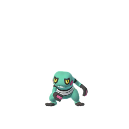 Croagunk - Shiny Male
