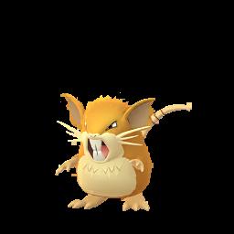 Raticate Pokemon GO
