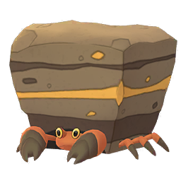 Crustle Pokemon GO